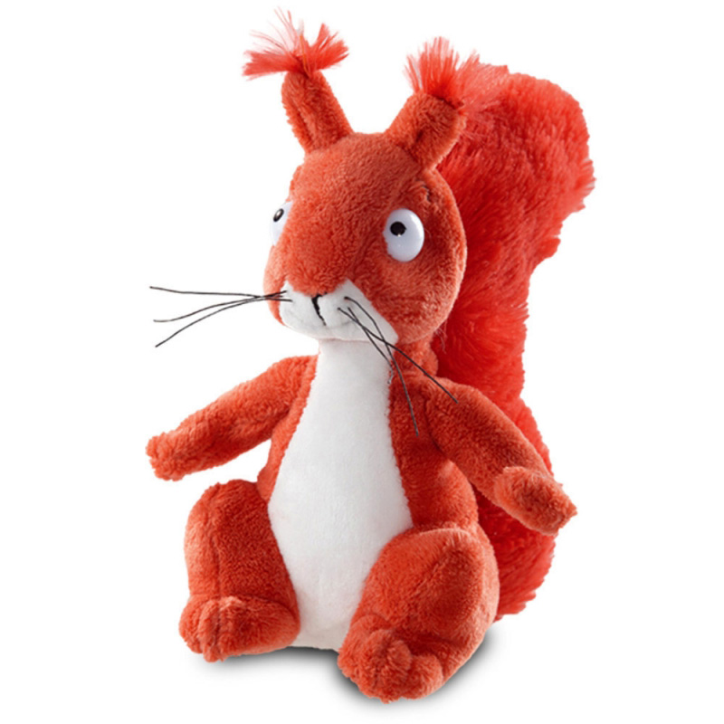 The Squirrel Plush Soft Toy, The Gruffalo