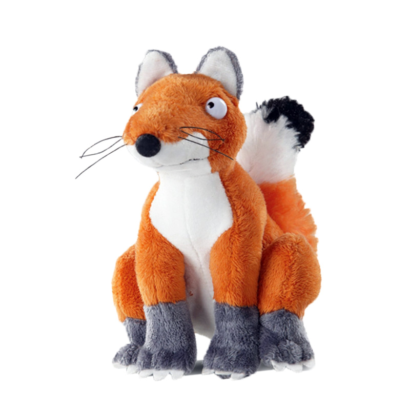 the fox plush soft toy, the gruffalo