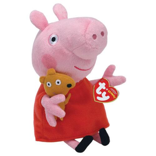 Peppa Pig Beanie Plush Soft Toy
