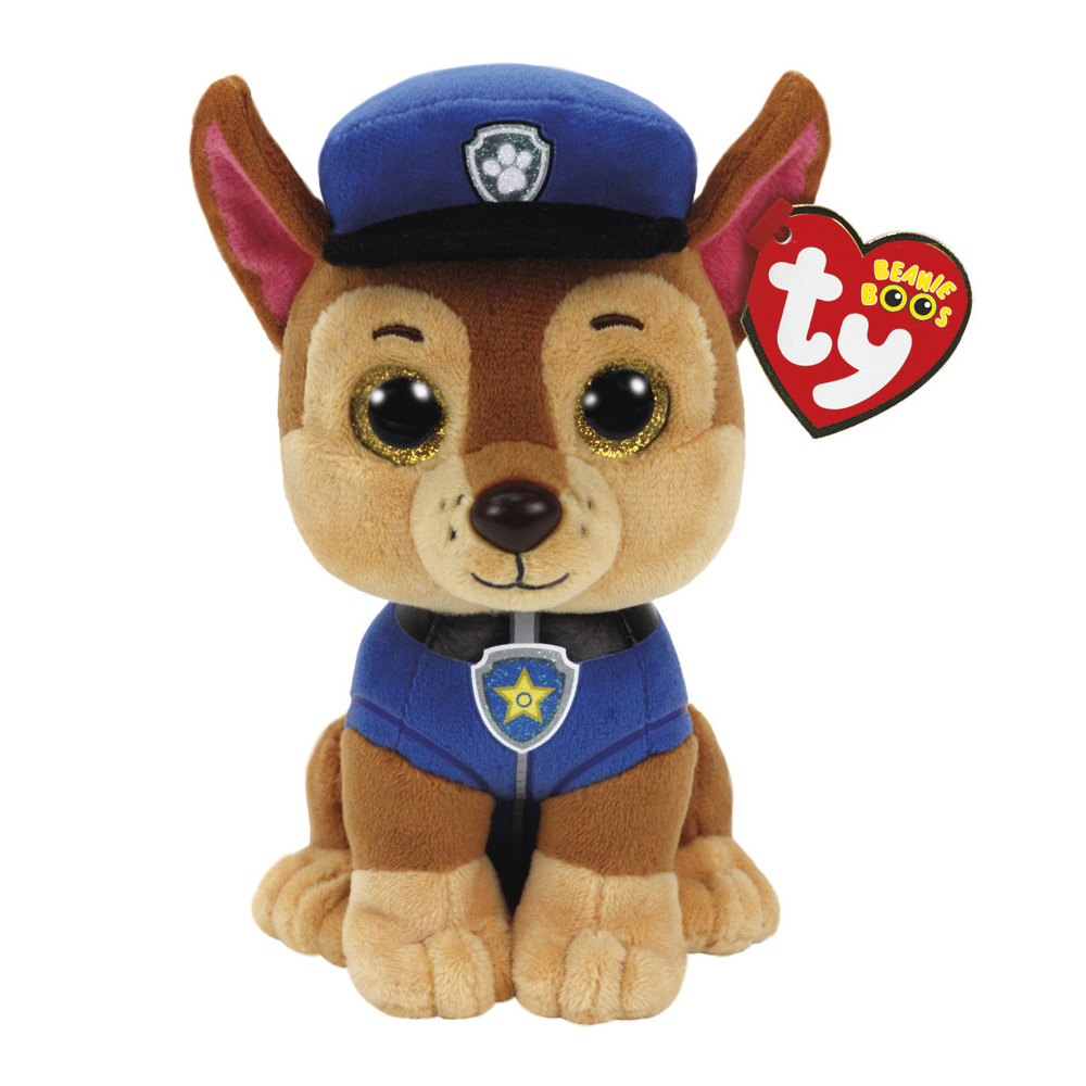 Chase Plush Soft Toy Paw Patrol