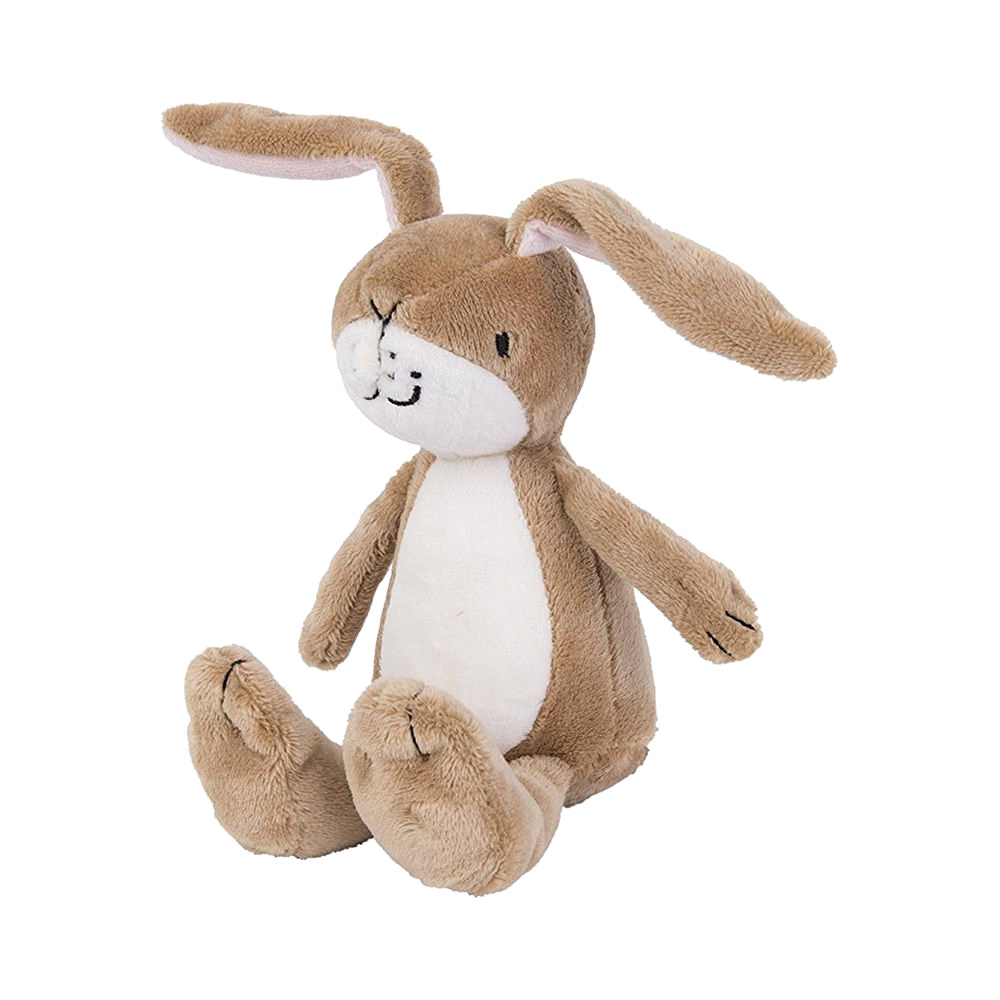 Little Nutbrown Hare Rattle Plush Soft Toy