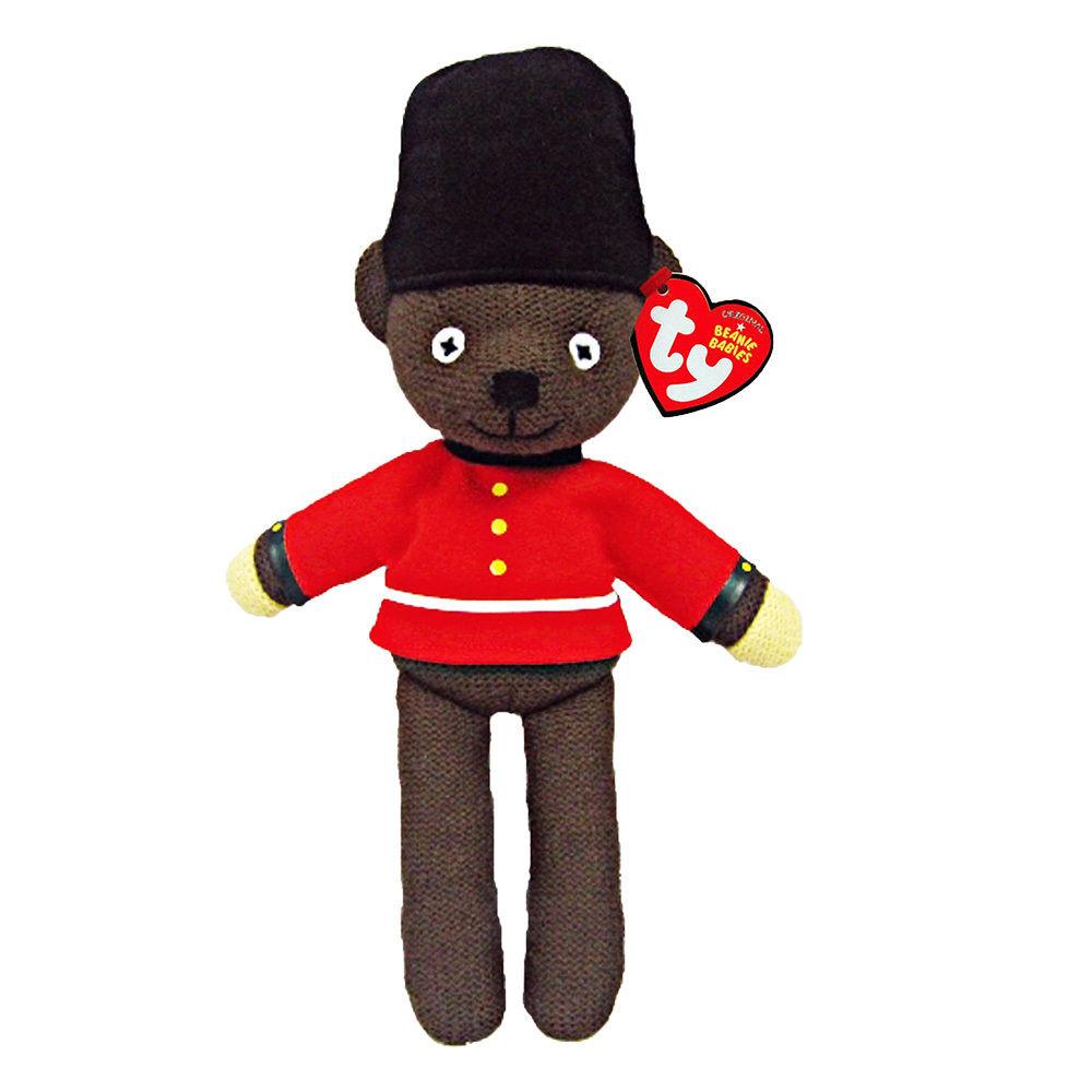 Mr Bean Teddy Bear (Guardsman) Plush Soft Toy