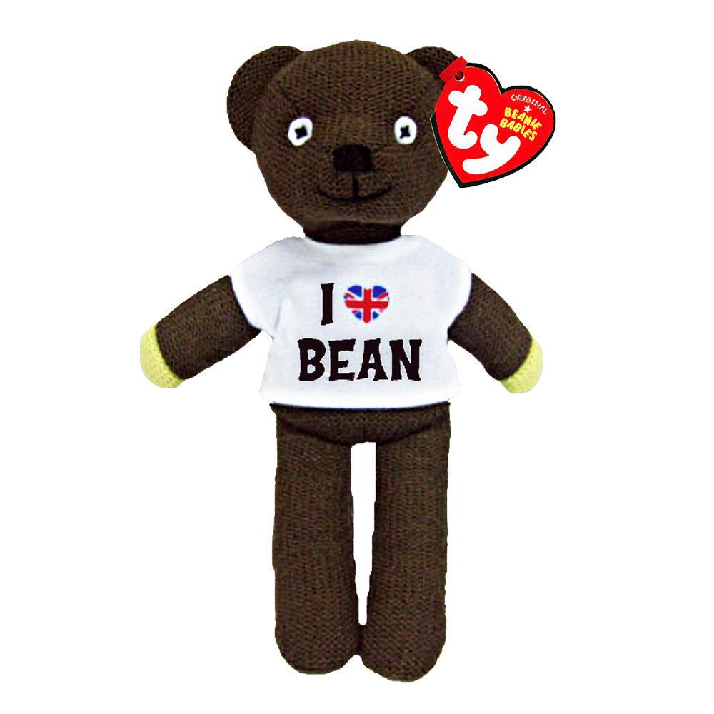 Mr Bean Teddy Bear (T-shirt) Plush Soft Toy
