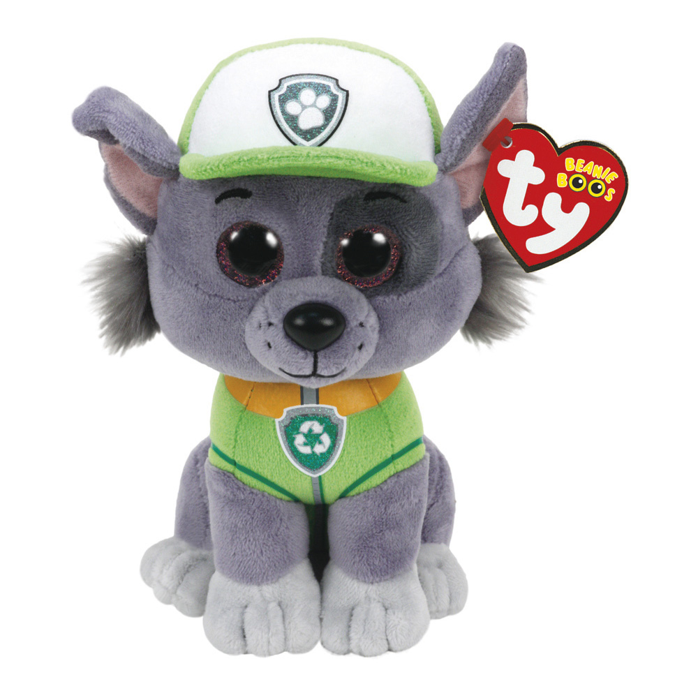 Rocky Plush Soft Toy Paw Patrol