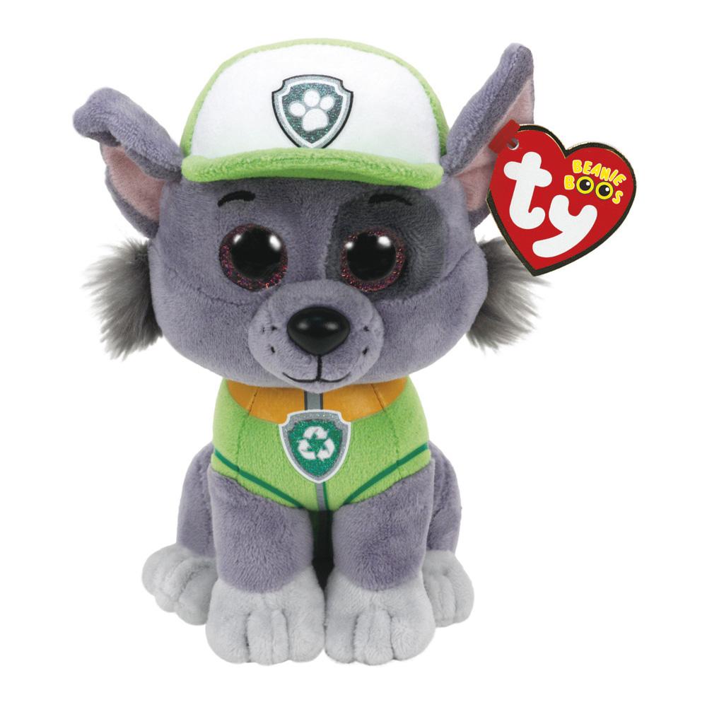 Rocky Plush Soft Toy Paw Patrol