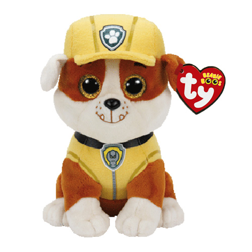 Rubble Plush Soft Toy, Paw Patrol