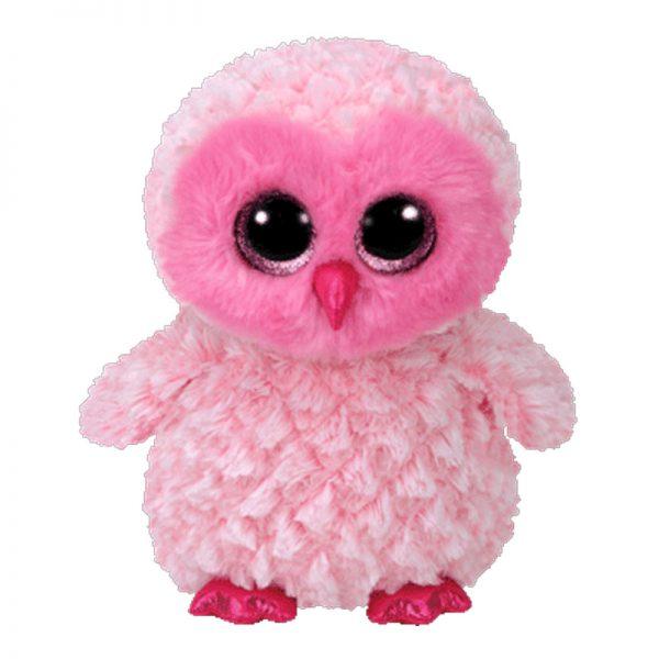Twiggy Pink Owl Plush Soft Toy